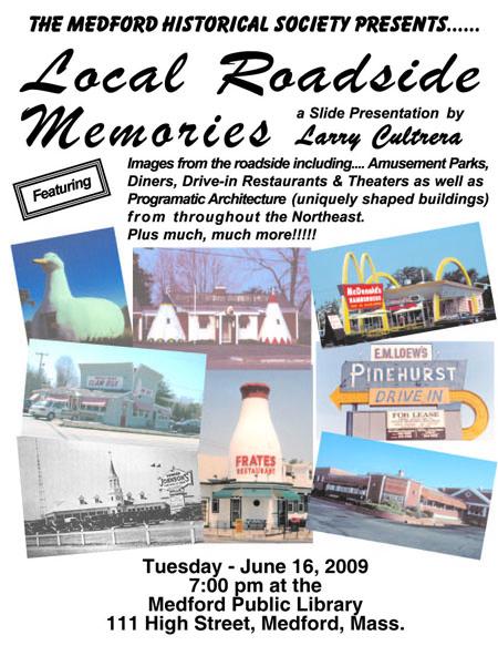 roadside memories poster_Medford