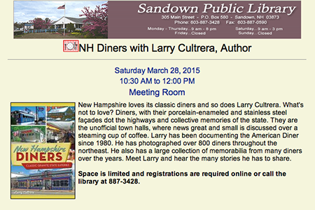Sandown Library announcement-sm